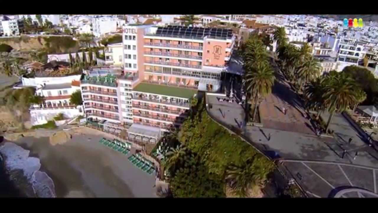 hotel balc n de europa nerja m laga costa del sol youtube. Black Bedroom Furniture Sets. Home Design Ideas