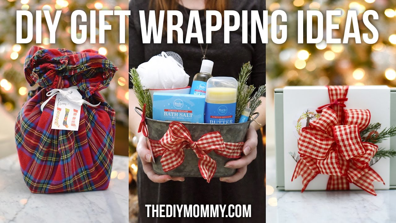 Download Creative DIY Gift Wrapping Ideas // How to make the perfect bow & gift basket