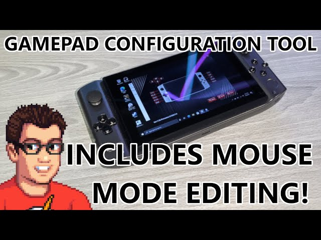GPD Win 3 - Back Button Configuration Tool! Includes Mouse Mode Editor!