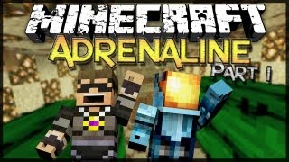 Minecraft: Adrenaline w/ SkyDoesMinecraft - Part 1 - Cactus Parkour...