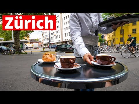 Zurich Neighborhood Tour - Living in Switzerland, Morning Swiss Coffee!