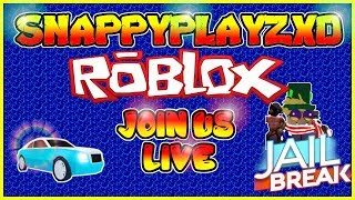 Roblox Hide & Seek Livestream + BONUS GAMES (WINNER gets 10,000 JailBreak Cash) | Roblox JailBreak