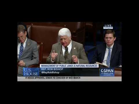 Rob Bishop Floor Speech on S. 47, the Natural Resources Management Act