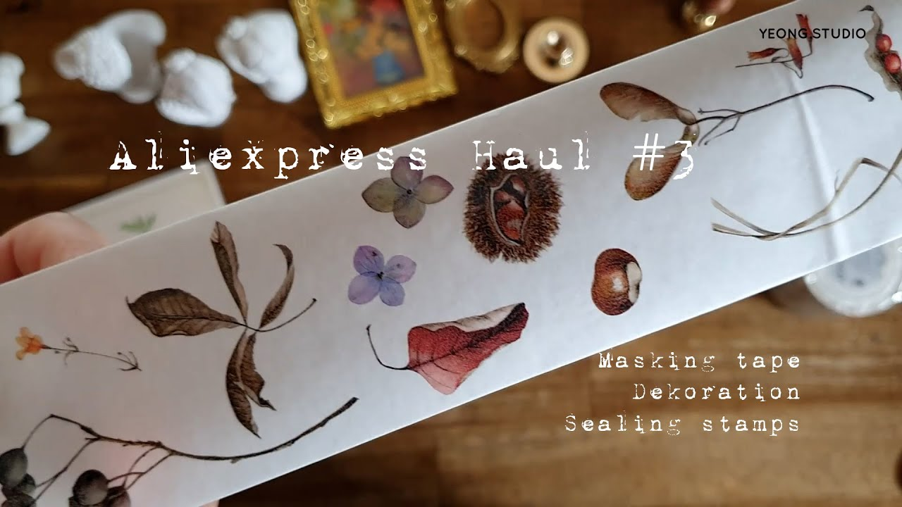 Aliexpress Haul 3 / 알리익스프레스 하울 Vintage dekoration 알리 하울 빈티지 다꾸템
