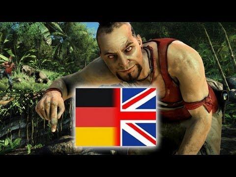 Far Cry 3 - Sprachvergleich: deutsch / englisch (German / English)