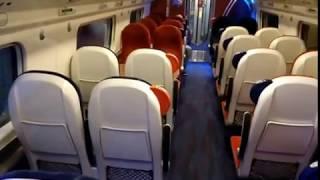 British Tilting High Speed Railway : Virgin Trains UK Pendolino Ride from Preston to London Euston