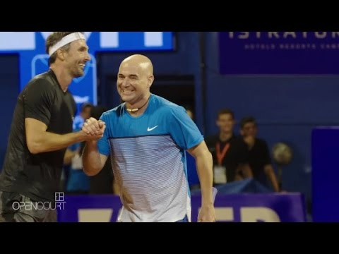 Andre Agassi: from wild child to role model