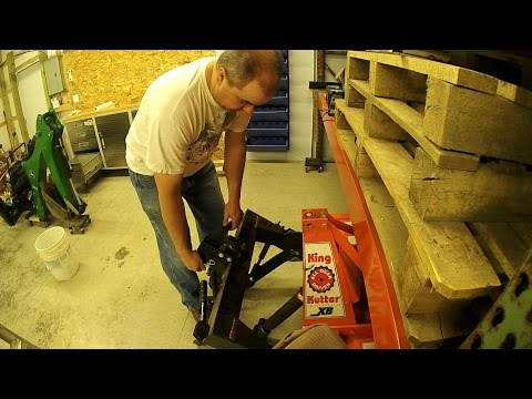 How to make a King Kutter XB Tiller Quick Hitch / I-Match Compatible