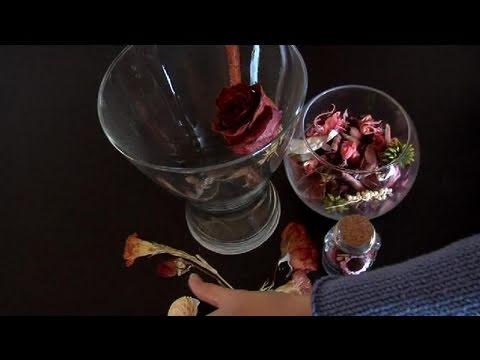 C mo confeccionar flores secas youtube - Flores secas decoracion ...