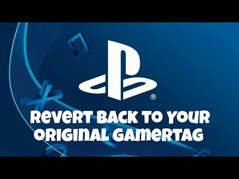 How To Change Back To Your Original Playstation Name! In the UK, Canada and more!