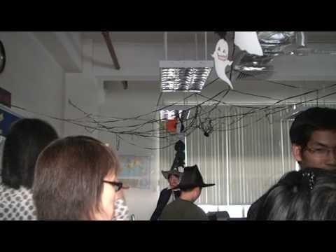 LSTS Halloween 2009 Trang tri phong 6A2