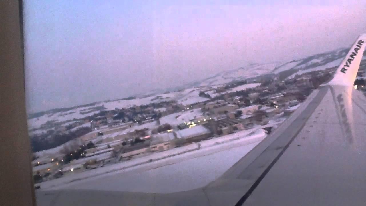 Aereo Privato Ancona : La neve di ancona dall aereo youtube