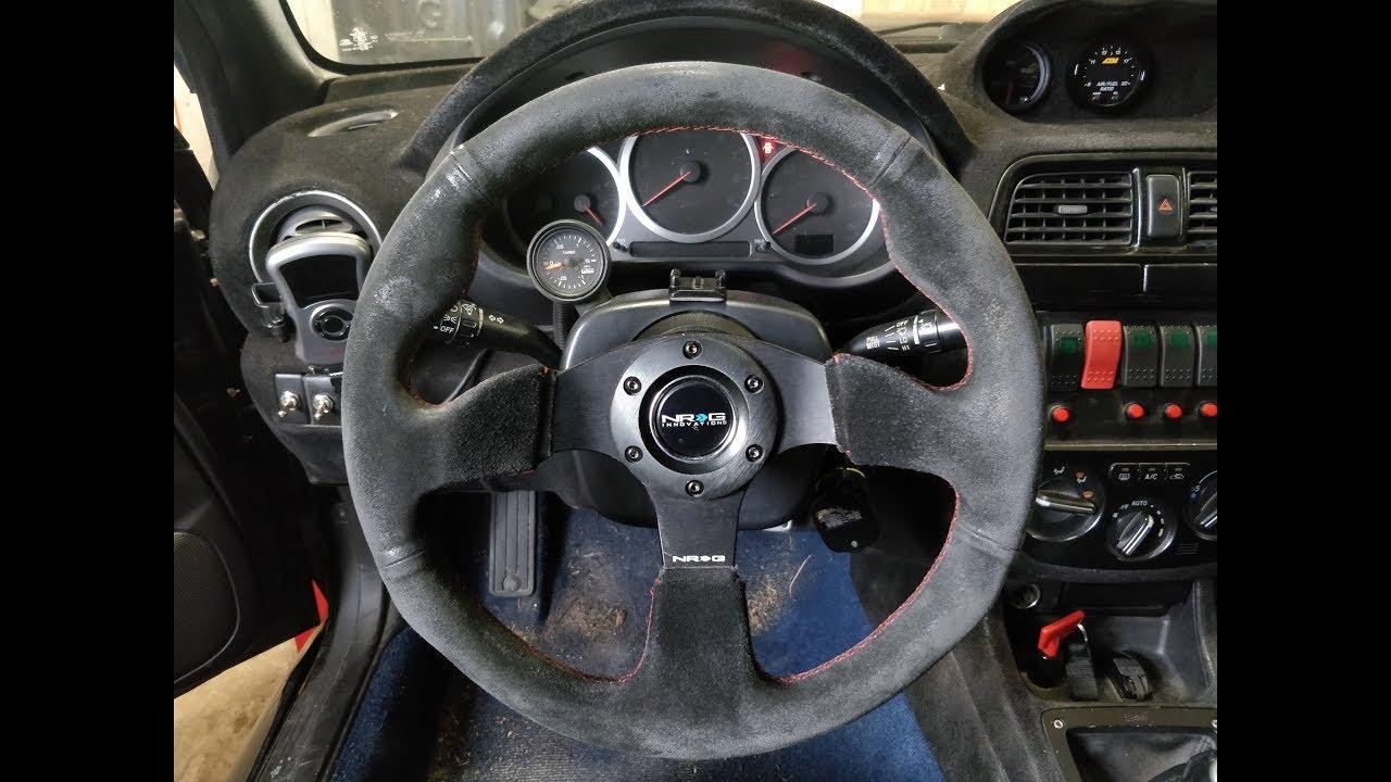 Aftermarket Steering Wheel Install On A Subaru
