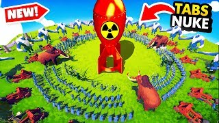 GOD POWERS NUKE vs IMPOSSIBLE BATTLES In TABS (Totally Accurate Battle Simulator Gameplay)