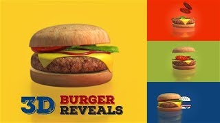 3D BURGER REVEALS ►  AFTER EFFECTS TEMPLATES