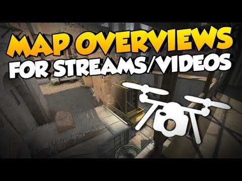CS:GO - Map Overviews Pack for Streamers/Video Creators (Free Download)