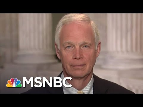 Ron Johnson: 'I Wish Judge Roy Moore Would Resign' | MTP Daily | MSNBC