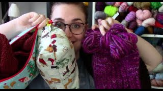 Cat Knit Podcast // Episode 96 // Gifts and Chunky Hats