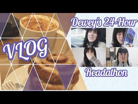 Dewey's 24-Hour Readathon | TBR & VLOG | 2017