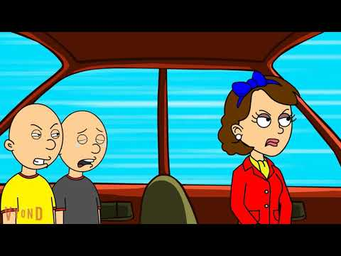 Classic Caillou Makes A Fake Lockdown