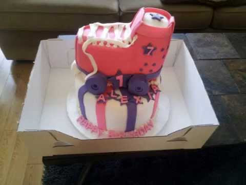 Cake Ideas Roller Skates Baby Shoes And Much More