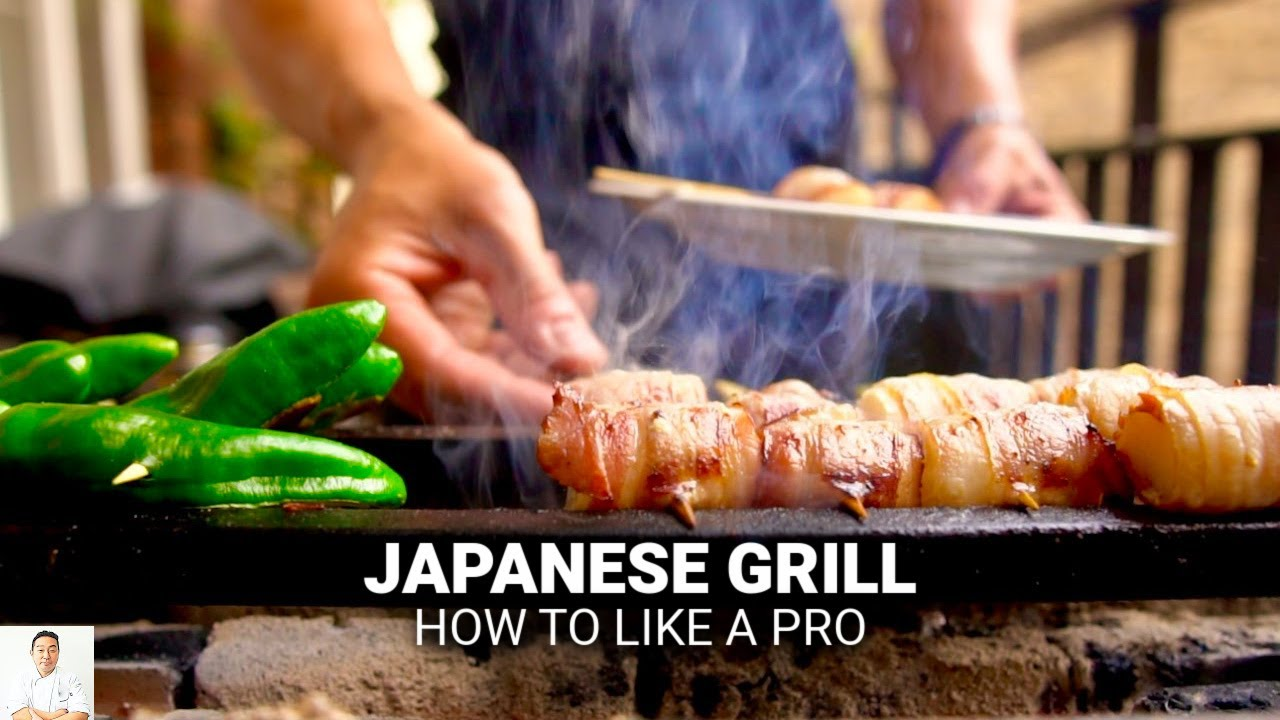 Download How To Grill Over Japanese Binchotan