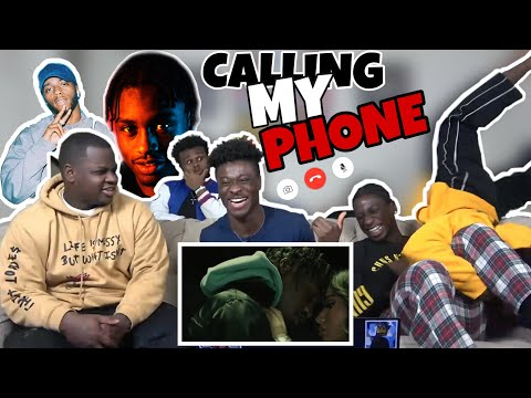 THS SONG IS HARDD ! Lil Tjay – Calling My Phone feat  6LACK | OFFICIAL MUSIC VIDEO REACTION