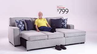 Playscape Sectional | Bob's Discount Furniture thumbnail