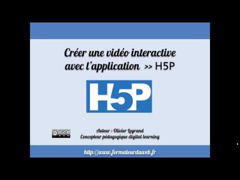 H5P: Engager encore plus vos apprenants avec des vidéos interactives sur des formats distanciels.
