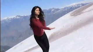 Kashmiri girl dancing
