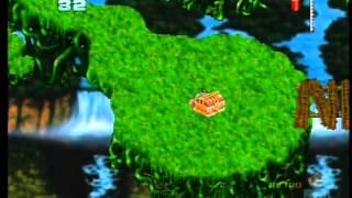 Attack of the Mutant Penguins Atari Jaguar Gameplay  (Sunrise Games)