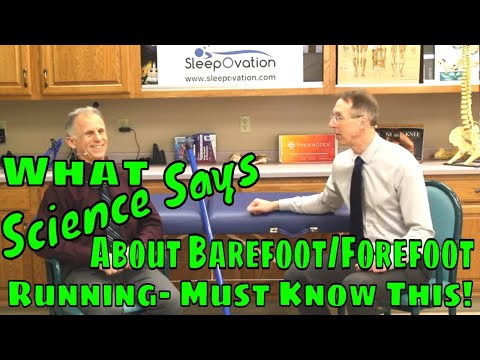 What Science Says About Barefoot/Forefoot Running-Must Know This!