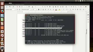 how to recover formatted data from hard disk in ubuntu using testdisk