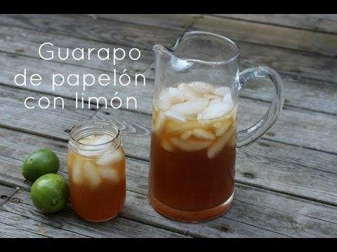 Guarapo de Papelón con Limón   La Cocina Venezolana