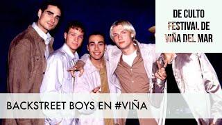Backstreet Boys en el Festival de Viña del Mar 1998/ 60 Momentos de Culto #VIÑA #FESTIVALDEVIÑA