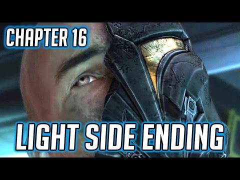 SWTOR KOTFE ► Chapter 16 Light Side Ending - Let Arcann and Senya Go