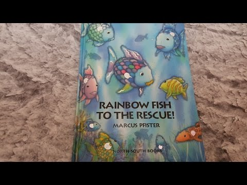 [영어동화]Rainbow Fish To The Rescue By Marcus Pfister - Story Time With Amy♡