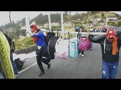 Mass migration from Venezuela puts pressure on neighboring nations