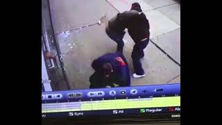 UFC Fighter VS Crips Street Fight (Security Footage)