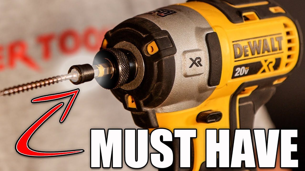 MUST HAVE Tool Accessory for Wood Screws & Fasteners!