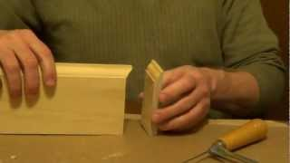 How To Cope Molding - Coping Saw - Tools For The Home
