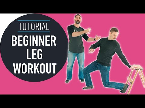 4 Leg Strength Exercises For Beginners You Can Do At Home