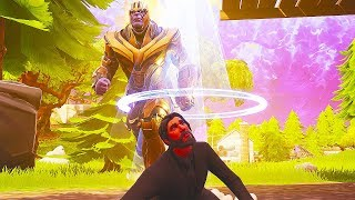 THANOS vs JOHN WICK in FORTNITE! (How to get INFINITY GAUNTLET Easy) | Chaos