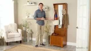 Carlisle Mini Mission Hall Tree - Product Review Video