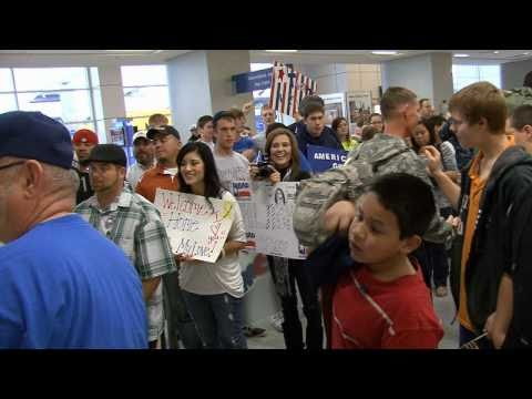 Anna Martinez at DFW Airport