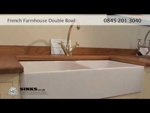 French Farmhouse Double Bowl Sink From Sinks Co Uk Youtube