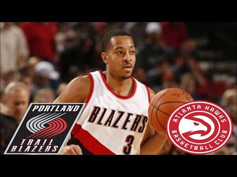 Atlanta Hawks VS Portland Trail Blazers Full Game Highlights   January 26,2019