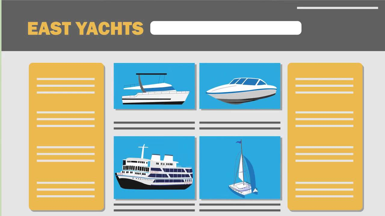 EAST YACHTS Ltd Charter booking Explainer video