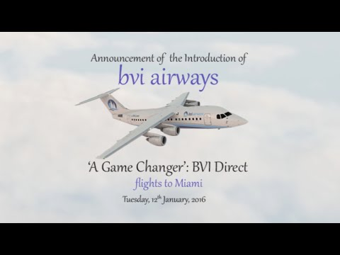 A Game Changer: BVI Direct Flights To Miami