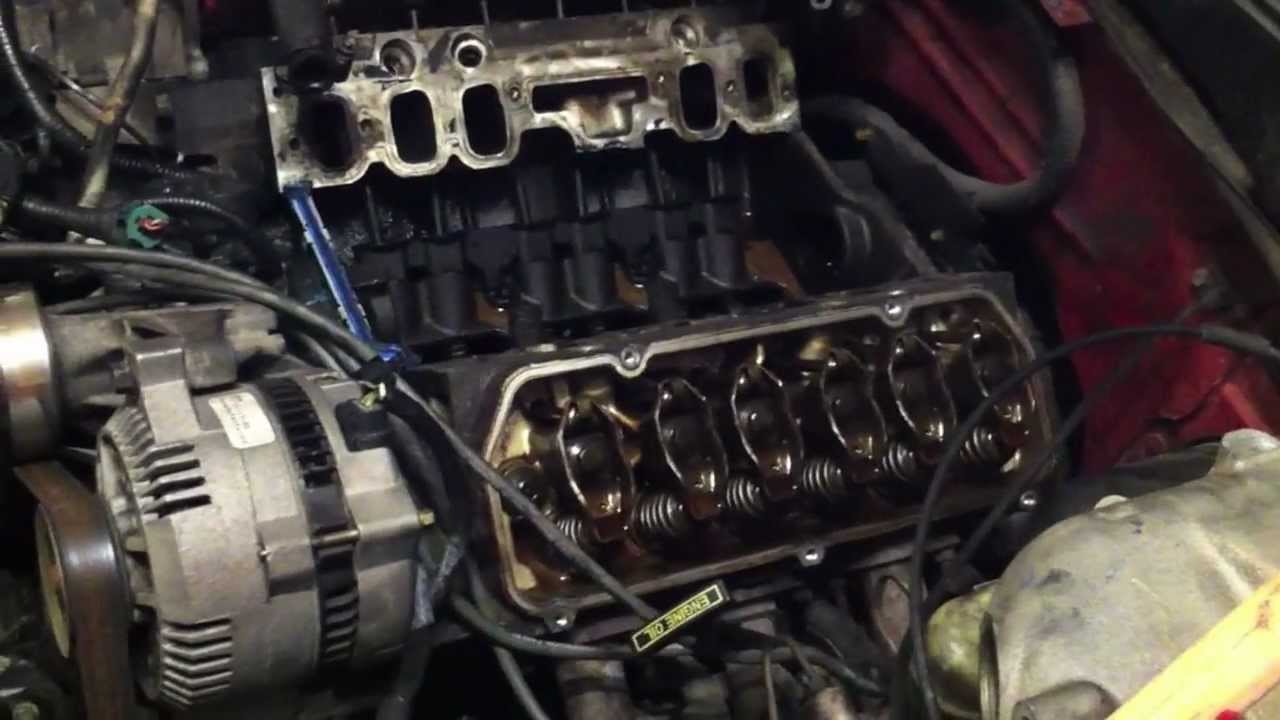 How To Replace A Head Gasket Part 1 Youtube V6 Engine Diagram